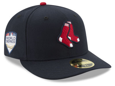 Boston Red Sox New Era 2018 MLB World Series Patch Low Profile 59FIFTY Cap