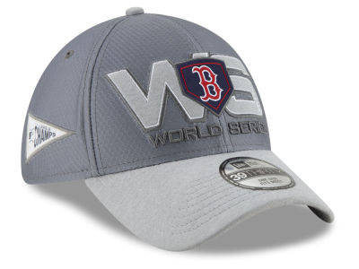 Boston Red Sox New Era 2018 MLB League Champion Series Locker Room 39THIRTY Cap