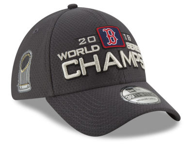 Boston Red Sox New Era 2018 MLB World Series Champ Locker Room 39THIRTY Cap