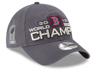 Boston Red Sox New Era 2018 MLB World Series Champ Locker Room 9TWENTY Cap