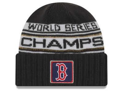 Boston Red Sox New Era 2018 MLB World Series Champ Locker Room Knit