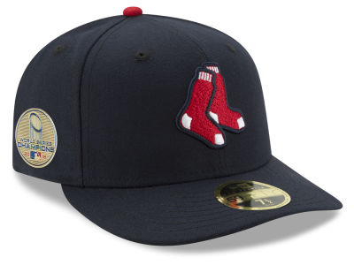 2018 MLB World Series chapeau du profil bas 59FIFTY de pièce rapportée de champion