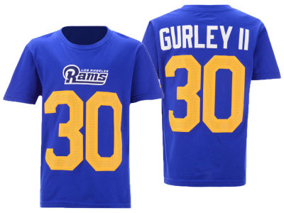 Los Angeles Rams Todd Gurley Nike NFL Youth Pride Name and Number 3.0 T-Shirt