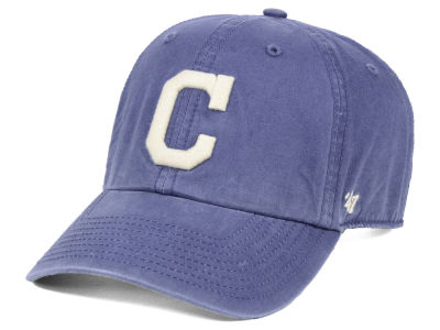 new product f3b87 51288 ... official cleveland indians 47 mlb hudson clean up cap 553cc 45ed3