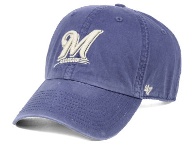 Milwaukee Brewers MLB Adjustable Hats   Caps  36ab6be87d5a