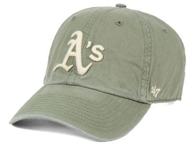 af9f81fc407 Oakland Athletics  47 MLB Hudson CLEAN UP Cap
