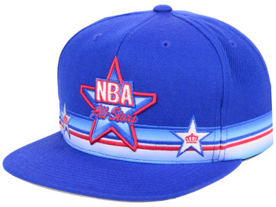 NBA Logo Mitchell & Ness All Star Game System Snapback Cap