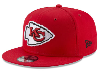 Kansas City Chiefs New Era NFL Basic 9FIFTY Snapback Cap