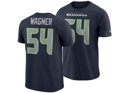 Seattle Seahawks Bobby Wagner Nike NFL Men's Pride Name and Number Wordmark T-shirt