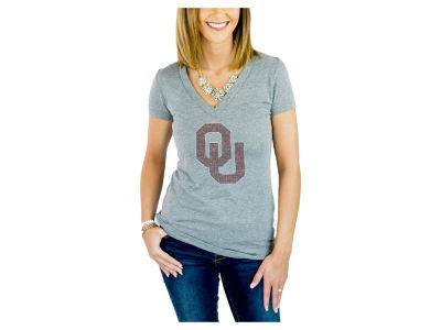 Oklahoma Sooners Gameday Couture NCAA Women's Bling T-Shirt