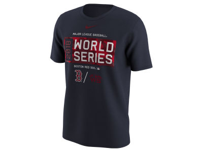 Boston Red Sox Nike 2018 MLB Men's World Series Bound Logo T-shirt