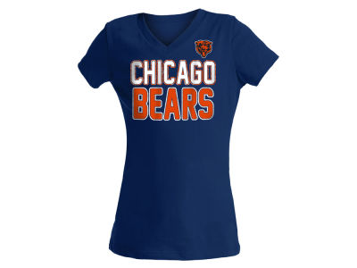 Chicago Bears NFL Girls Glitter Gel Team T-Shirt