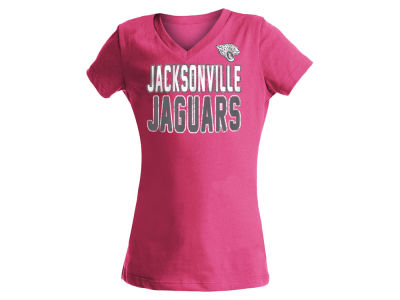 Jacksonville Jaguars NFL Girls Glitter Gel Team T-Shirt