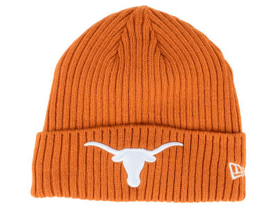 Texas Longhorns New Era NCAA Classic Cuff Knit