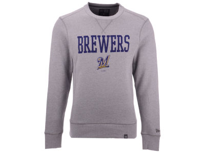 Milwaukee Brewers New Era MLB Men's Premium Crew Sweatshirt