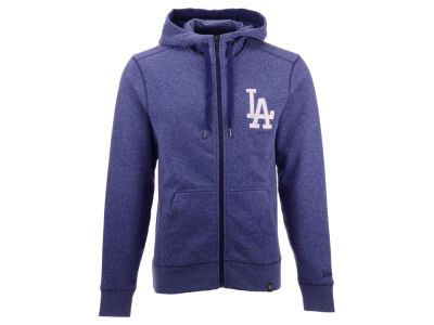 Los Angeles Dodgers New Era MLB Men's Prem Full Zip Hoodie