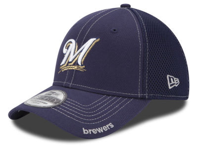 Milwaukee Brewers New Era MLB Core Neo 39THIRTY Cap