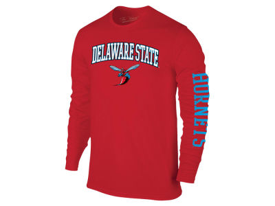 Delaware State Hornets The Victory NCAA Men's Midsize Slogan Long Sleeve T-Shirt