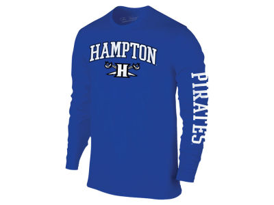 Hampton Pirates The Victory NCAA Men's Midsize Slogan Long Sleeve T-Shirt