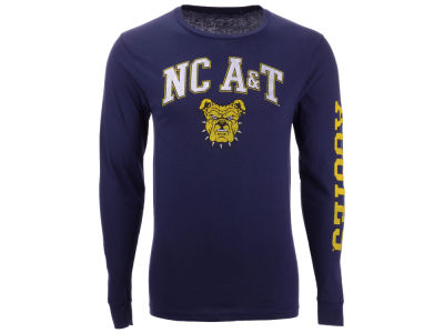 North Carolina A&T Aggies The Victory NCAA Men's Midsize Slogan Long Sleeve T-Shirt