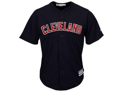Cleveland Indians MLB Men's Blank Replica Cool Base Jersey