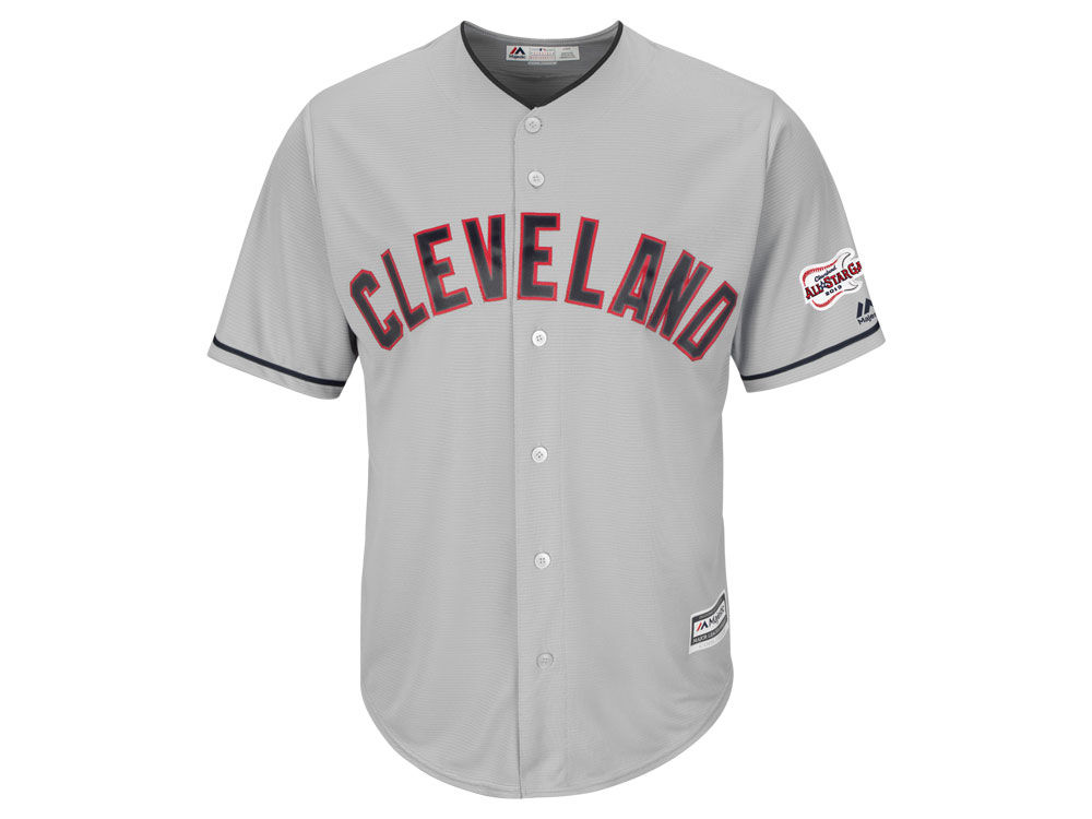 Cleveland Indians Majestic 2019 MLB Men s All Star Game Patch Cool Base  Jersey. Cleveland Indians Majestic ... 991807080