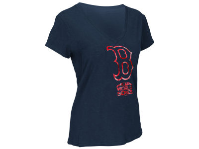Boston Red Sox G-III Sports 2018 MLB Women's World Series Participant Fair Catch T-shirt