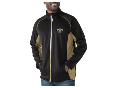 New Orleans Saints G-III Sports NFL Men's Blind Side Player Lightweight Jacket