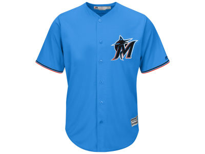 Miami Marlins MLB Men's Blank Replica Cool Base Jersey