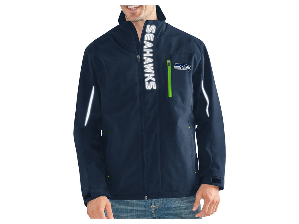 Seattle Seahawks G-III Sports NFL Men s Energy Player Front Zip Jacket  bcb29390a