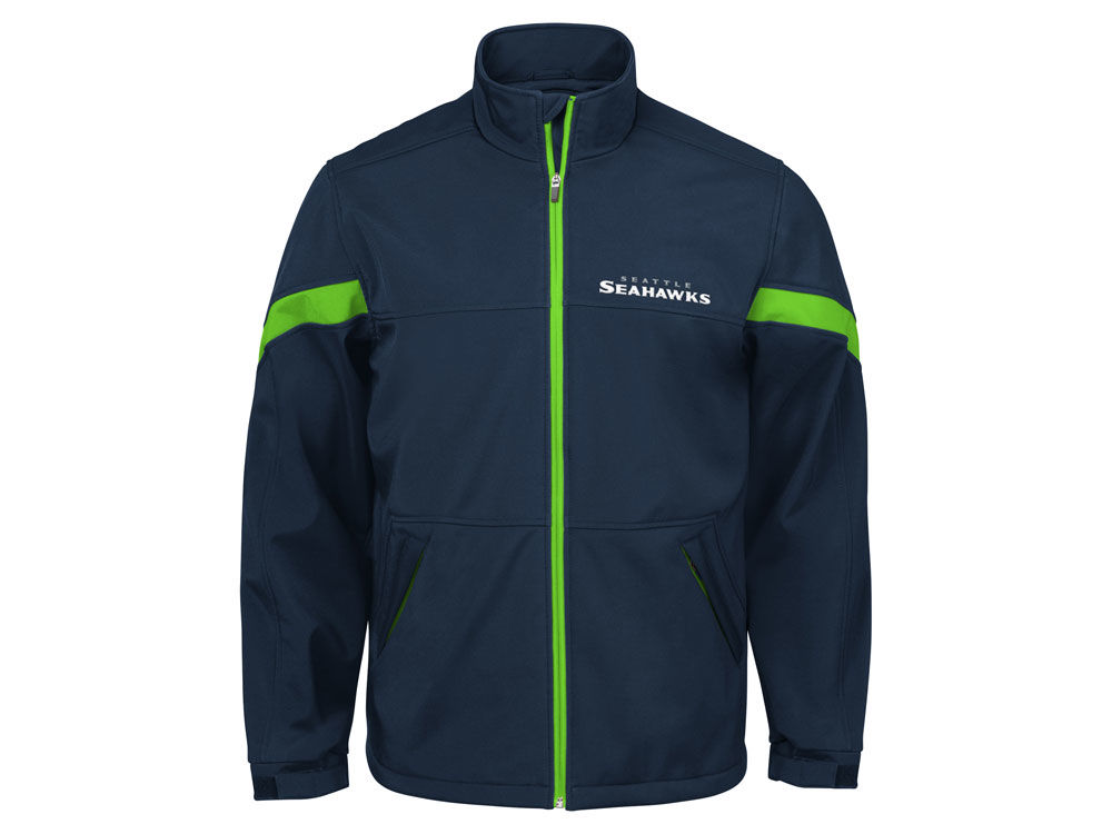 Seattle Seahawks G-III Sports NFL Men s The Franchise Player Front Zip  Jacket  4217f31a6