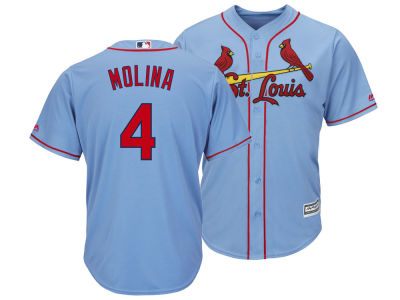 St. Louis Cardinals Yadier Molina MLB Men's Player Replica Cool Base Jersey