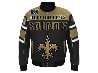 New Orleans Saints G-III Sports NFL Men's Blitz Front Zip Jacket