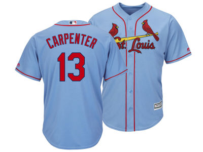St. Louis Cardinals Matt Carpenter MLB Men's Player Replica Cool Base Jersey