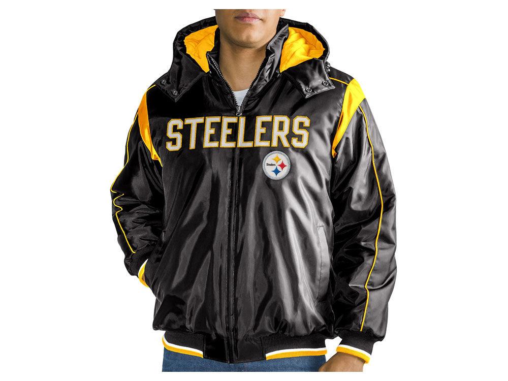 Pittsburgh Steelers G-III Sports NFL Men s Hot Read Player Front Zip Jacket   4605caedf