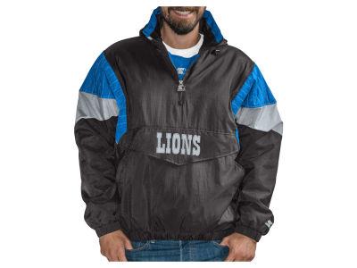 Detroit Lions G-III Sports NFL Men s Throwback Nylon Front Zip Jacket a6d7759bd1931