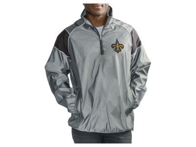 New Orleans Saints G-III Sports NFL Men's Fade Player Lightweight Pullover Jacket