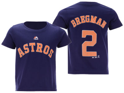 Houston Astros Alex Bregman Majestic MLB Toddler Official Player T-Shirt