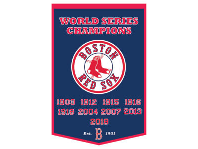 Boston Red Sox Winning Streak 2018 MLB World Series Champion Dynasty Banner
