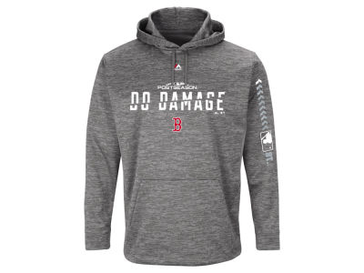 Boston Red Sox 2018 MLB Men's Postseason Ultra Fleece Hoodie
