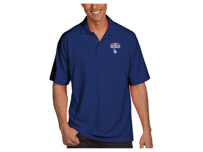 Los Angeles Dodgers Antigua MLB Men's World Series Pique Polo