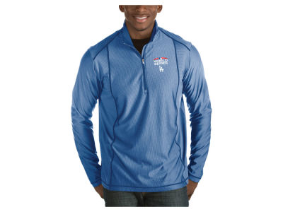 Los Angeles Dodgers Antigua 2018 MLB Men's World Series Tempo Pullover