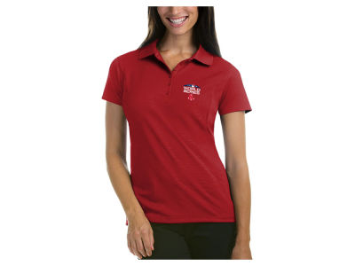 Boston Red Sox Antigua 2018 MLB Women's World Series Pique Polo