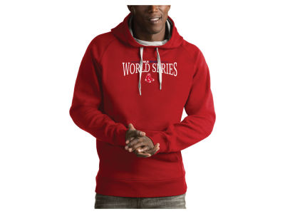 Boston Red Sox Antigua 2018 MLB Men's World Series Victory Hoodie