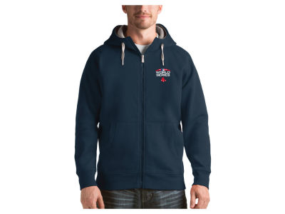 Boston Red Sox Antigua 2018 MLB Men's World Series Victory Full Zip Hoodie