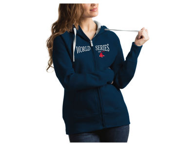 Boston Red Sox Antigua 2018 MLB Women's World Series Victory Hoodie