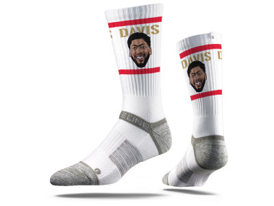 New Orleans Pelicans Anthony Davis Strideline NBA Action Crew Socks