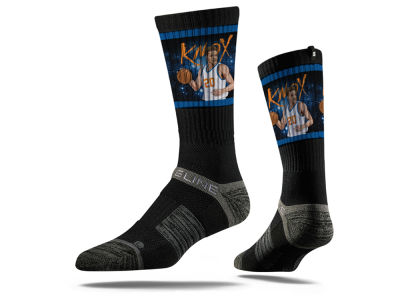 New York Knicks Kevin Knox Strideline NBA Action Crew Socks