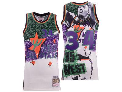 5713567bd NBA All Star Hakeem Olajuwon Mitchell   Ness NBA Men s Fashion All Star  Swingman Jersey