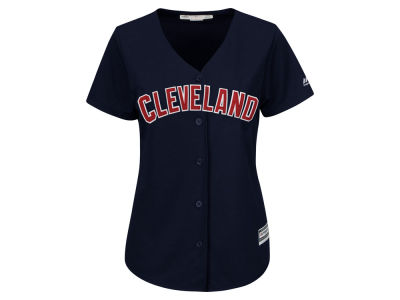 Cleveland Indians Majestic MLB Women's Cool Base Jersey